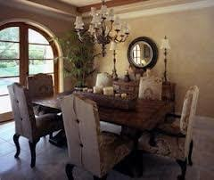 Tuscan Dining Rooms - Tuscan dining room