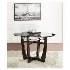 Steve Silver Dining Room Furniture 5 Piece Margo Dining Table Set Wood Brown Black Steve Silver