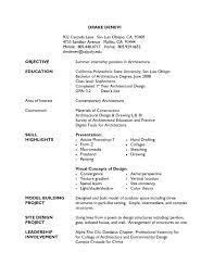 college graduate resume with no work experience
