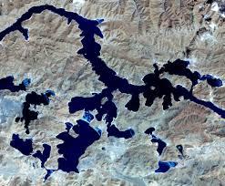 Lake Powell Map Navajo Mountain Utah Nasa
