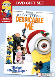 amazon com despicable me limited edition ornament gift set dvd