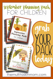 september planning pack free for limited time the multi taskin u0027 mom