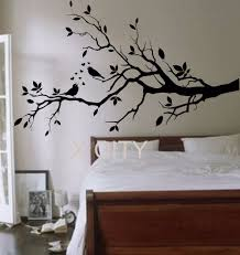 online get cheap giant wall stickers aliexpress com alibaba group birds on a branch tree birds giant wall sticker vinyl art decal window door kitchen stencil