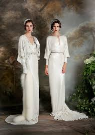 deco nature chic eliza jane howell elegant art deco inspired wedding dresses