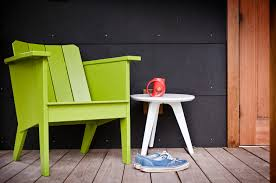 Polyethylene Patio Furniture by Modern Deck Chair For The Outdoor Lollygagger Loll Designs