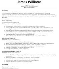 qualifications for a resume examples bookkeeper resume sample resumelift com