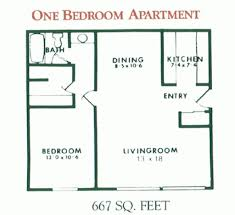Single Bedroom Apartment Floor Plans by One Bedroom Apartment Plans And Designs One Bedroom Apartment Plan