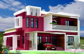 Contemporary Style House Plans Modern Square Home Design Plan Sq Ft Sq Square Square Feet