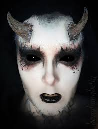 halloween demon makeup halloween creepy makeup makeup art