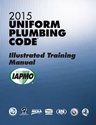 2015 uniform plumbing upc illustrated training manual soft cover w