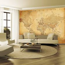 vintage map wallpaper mural wallpaper murals vintage maps and