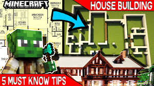 5 must know tips for minecraft house builders youtube