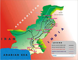 Pakistan On The Map Nttfc U003e Trade U0026 Transport Facilitation Project Ttfp