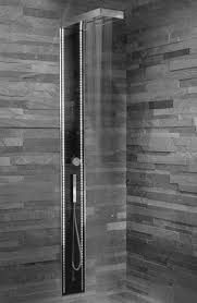 walk in shower remodel ideas black stained wooden wall mounted