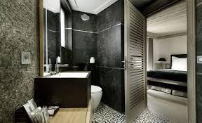 bathroom stone sink marble tiles chalet black pearl in val d