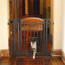 baby gate cat door design amazing best flap ideas for idolza