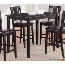 Parawood Furniture Buckland X Black CounterHeight - Counter height kitchen table