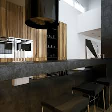 kitchen room design black kitchen island breakfast bar interior