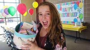 diy inexpensive birthday gift basket youtube