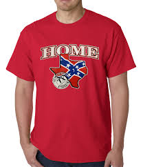 Rebel Flag Home Decor by Confederate Rebel Flag Texas Home Mens T Shirt