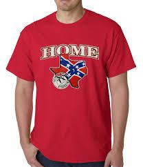 Rebel Flag Home Decor by Confederate Rebel Flag Texas Home Mens T Shirt