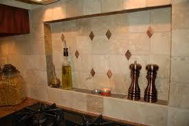 kitchen tile backsplash ideas awesome white wooden kitchen cabinet with cream mosaic tiled backsplash cool ideas