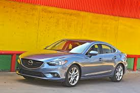 mazda manufacturer 2014 mazda6 gt sedan with sports car attitude new on wheels
