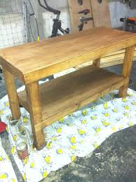 Basic Wood Bench Plans by Ana White Build A Workbench To Get The Job Done Free And Easy