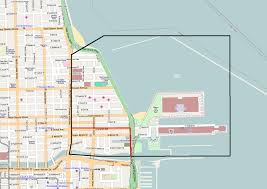 North Shore Chicago Map by Streeterville Wikipedia