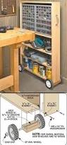 Rolling Wood Storage Rack Plans by Garage Storage Cart Woodworking Plan Love This Organized
