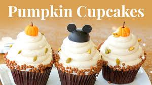 pumpkin cupcakes from walt disney world disney family youtube