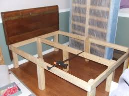 Make A Platform Bed With Storage by 15 Bed Frame 6 Steps With Pictures
