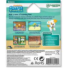 leapfrog leapster explorer learning game nickelodeon bubble