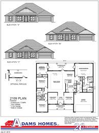 Home Builder Floor Plans by Hidden Forest Adams Homes