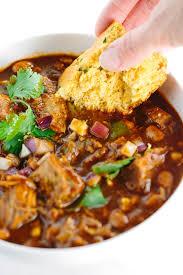 slow cooker new mexican red pork chili recipe jessica gavin