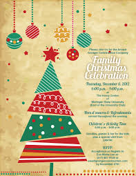 New Office Invitation Card Christmas Party Invitation Redwolfblog Com