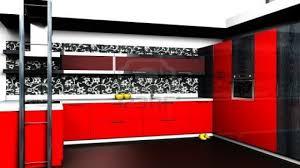 Red And Black Kitchen Ideas Beautiful Handicraft Home Decor Items Kitchen Design