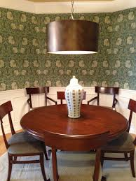Craftsman Style Dining Room Furniture Dining Room William Morris Pimpernel 1 Wallpaper Client Cc