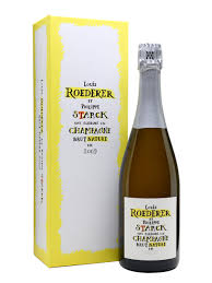 Philip Starck by Louis Roederer Brut Nature 2009 Champagne Philippe Starck The