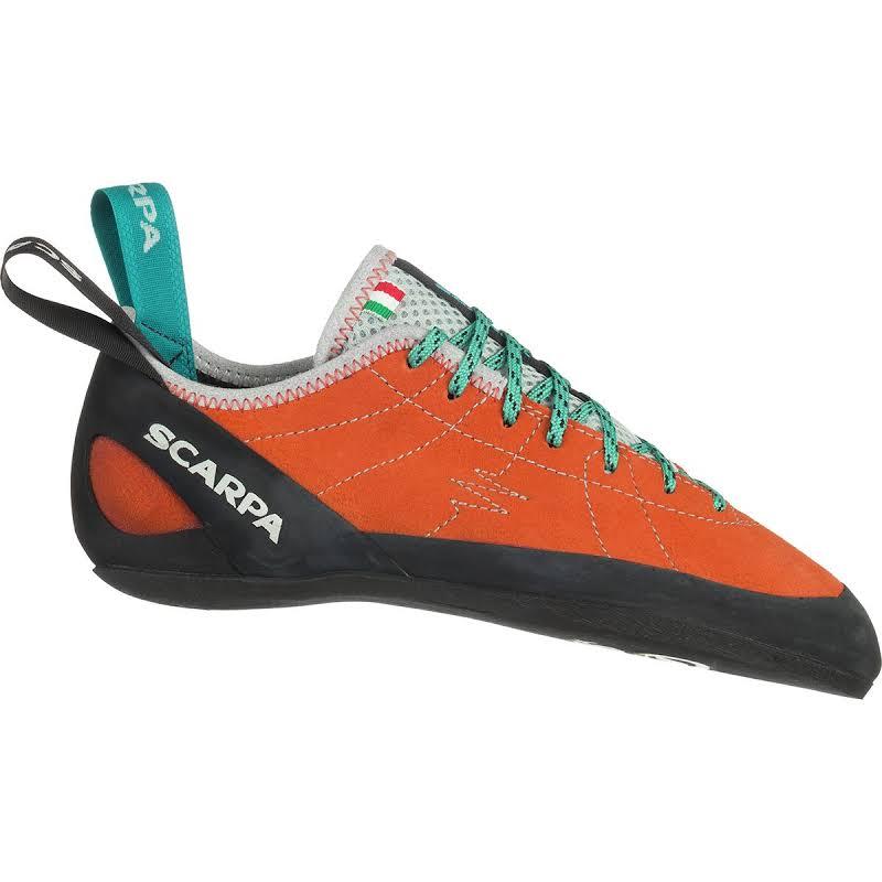 Scarpa Helix Climbing Shoes Mandarin Red Medium 38 70005/002-Mred-38