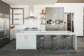 Off White Kitchen Cabinets With Black Countertops 30 Gorgeous Grey And White Kitchens That Get Their Mix Right