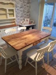 shabby chic oval dining table pine laminate flooring fruit glass