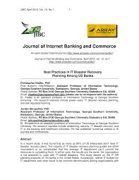 Business Continuity And Disaster Recovery Plan Template Best Practices In It Disaster Recovery Planning Among Us Banks