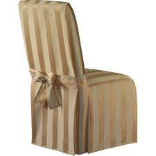 decor best slipcover for parson chairs create awesome home chair beautiful striped brown slipcover for parsons chair with ribbon design furnishing your modern home interiors best