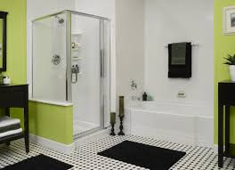 Shower Bathroom Designs by Bathroom Glass Block Wall With Glass Door Shower Plus Glass