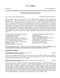 Resume Examples Human Resources Resume Resume Hr Manager