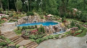 Ciprianos Saddle River Backyard Design Garners International Honors - Backyard river design