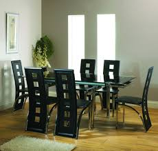 6 seater round glass dining table buy dining table sets dining