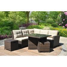 Wood Patio Furniture Sets - sofas center eak wood patio furniture set and modern wicker