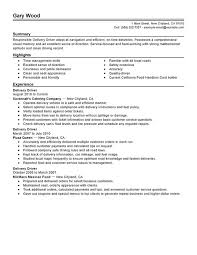 Simple Resume Examples by Unforgettable Delivery Driver Resume Examples To Stand Out Simple